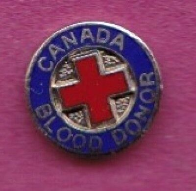 Canada Blood donor pin