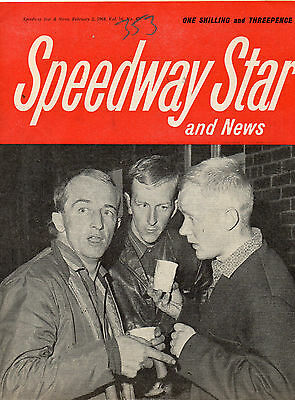 Speedway Star And News :February 2, 1968. Oxford track review.