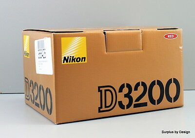 **NEW**Nikon D3200 24.2 MP CMOS Digital SLR Camera Body Only (sold without lens)