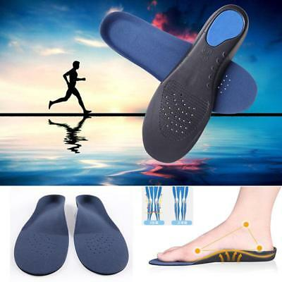 Orthotic Flat Feet Foot High Arch Gel Heel Support Shoe Inserts Insoles Pads LC