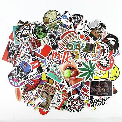 200 Cool Personality Graffiti Laptop Suitcase Skateboard Car Motorcycle Stickers