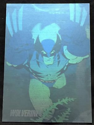 1992 Marvel Universe 3 - Impel Hologram Insert Card # H-3 Wolverine Nm/Mt Nice!!