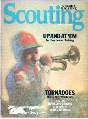 BSA Scouting magazine 1981 May June