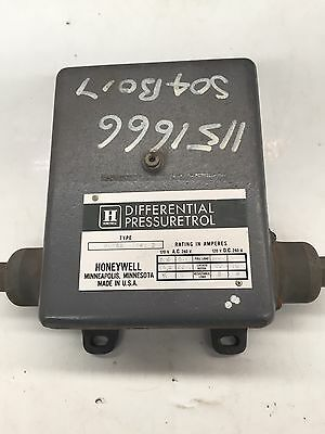Honeywell Differential Pressure Trol P606A 1046 2