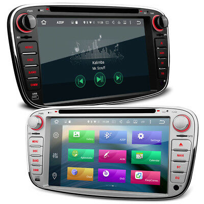 """7"""" Android 6.0 HD Screen With Bluetooth GPS WiFi 4G DVD USB SD Stereo For Ford"""