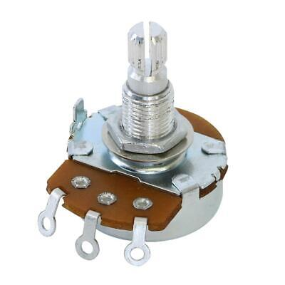 250k Split Shaft Alpha Potentiometer Audio Taper / Linear / Volume / Tone Pots