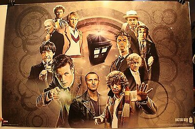 "2012 Doctor Who BBC 24 x 36"" Poster Culturenik ST5423 Tardis Dr."