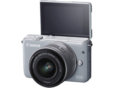 Canon EOS M10 Mirrorless Digital Camera with 15-45mm Lens Grey US