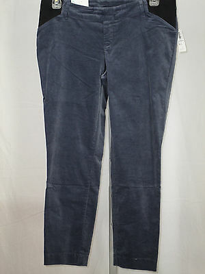 OLD NAVY NEW Maternity Women's Gray Ankle Length Pixie Pants Size 8