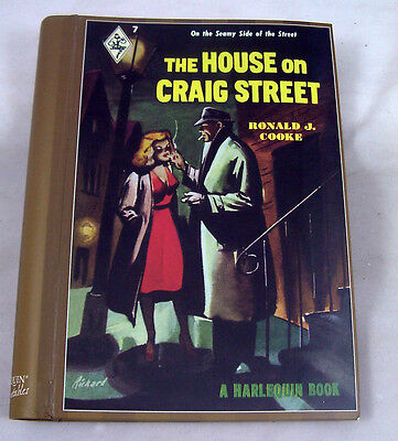 ADDRESS BOOK Retro HARLEQUIN Repro House On Craig Street Seamy Sultry Sexy NEW