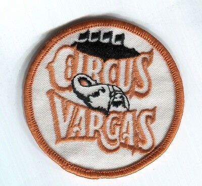 Circus Vargus embroidered patch