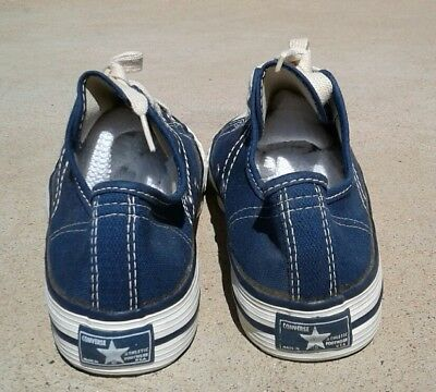 Vintage Converse made in USA fast-break blue label never worn collectible