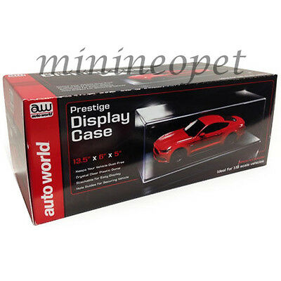 Autoworld Awdc001 Prestige Collectible Clear Display Show Case For 1/18 Diecast