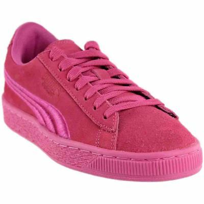 Puma SUEDE CLASSIC BADGE JR Pink - Womens  - Size