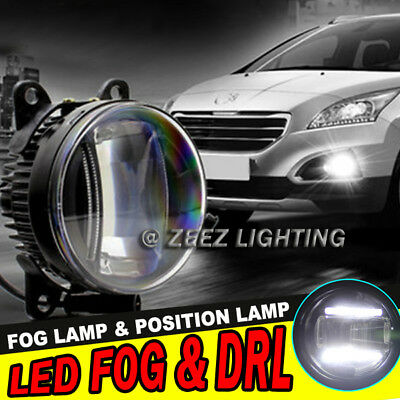 High Power LED Projector Fog Driving Lamp w/ DRL Daytime Running Light Truck #A