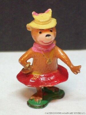 Vintage Marx Tinykins Hanna Barbera Cindy Yogi Bear Girlfriend Figure Character