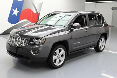 2014 Jeep Compass  2014 JEEP COMPASS HIGH ALTITUDE HTD LEATHER SUNROOF 25K #819466 Texas Direct