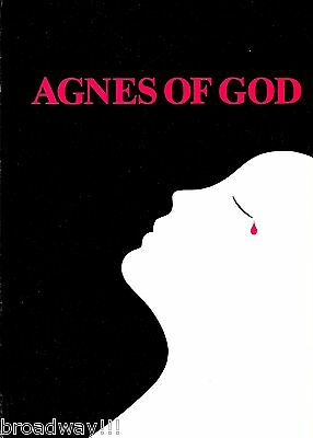 "Elizabeth Ashley (Signed) ""AGNES OF GOD"" Geraldine Page / Amanda Plummer 1982"