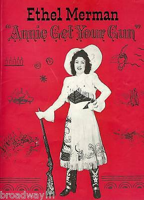 "Ethel Merman ""ANNIE GET YOUR GUN"" Irving Berlin 1946 Broadway Souvenir Program"
