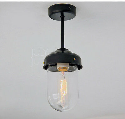* New European Simple Style Glass Single Light Height 31CM Ceiling Lamp Lighting