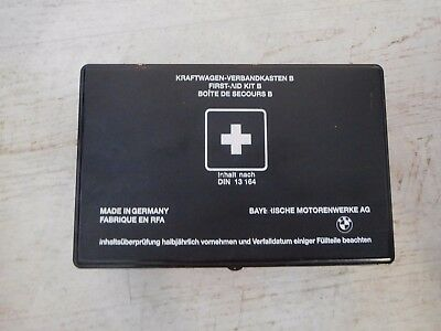 BMW First Aid Kit - DIN 13164 - Hard Case (Expiry date 12/2018)