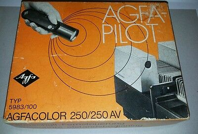 AGFA - Pilot Ultrasonic Remote Control AND Receiver