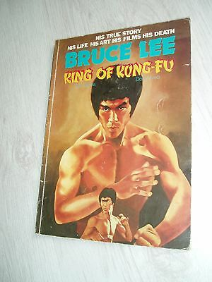 Must See Bruce Lee His True Story  King Of Kung Fu Book Great Collectors Item