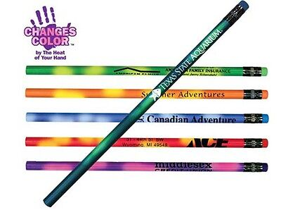 Mood Color Changing #2 Pencils Personalized School Promotion Handout Marketing