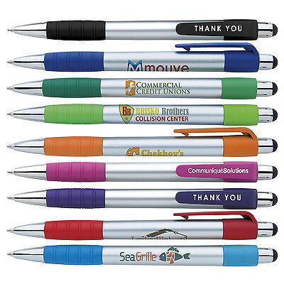 Stylus Blue Ink Pens Personalized Business Promotion Marketing Giveway Handouts