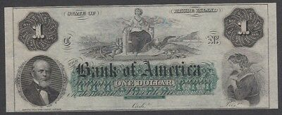 1 Dollar From America 1860 A5 Unc