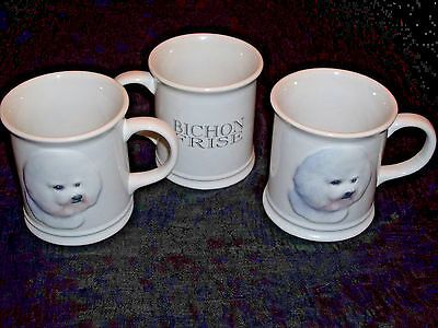 Bichon Frise 3D Coffee Mugs, Set of 3 - Xpres Best Friends Originals