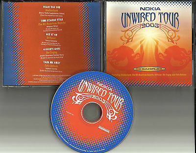 RARE PROMO 2003 TOUR CD HOOBASTANK Fefe Dobson ALL AMERICAN REJECTS  Die trying