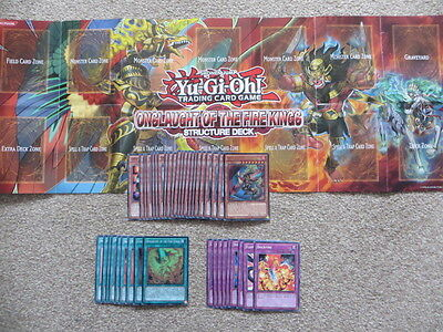 Yu-Gi-Oh! Onslaught of the Fire Kings Structure Deck & Deck Zone (SDOK)