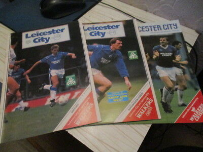 3  Leicester  City   / Homes  //  Cups