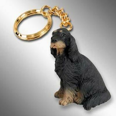 Gordon Setter Dog Tiny One Resin Keychain Key Chain Ring
