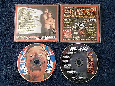 Autographed Lloyd Kaufman, Poultrygeist: Night Of The Chicken Dead,cd & Dvd 2006