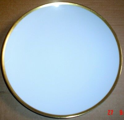 Thomas Germany Side Plate White With Gold Trim Edge