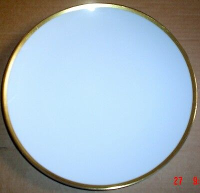 Thomas Germany Salad Breakfast Plate White With Gold Trim Edge