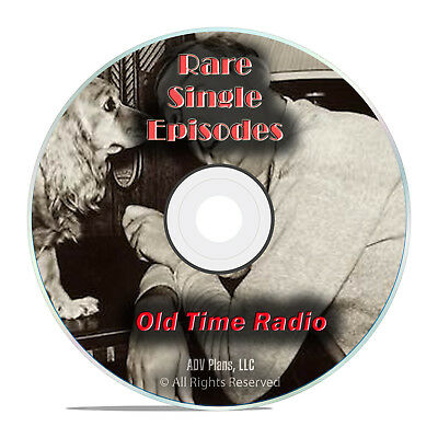 1,326 Old Time Radio Single Episodes, Country, Music, Comedy Shows, more DVD G71