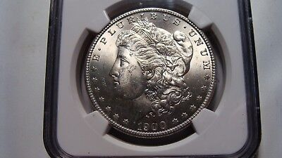 1900-S Morgan Silver $  NGC MS-64   Nice and tougher date !!!