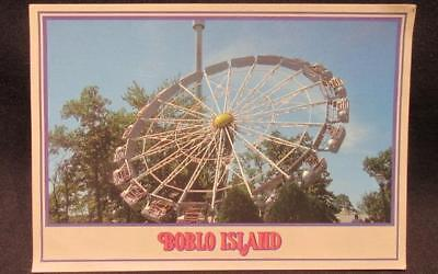Boblo Island 1970s Vintage Color Freestyle Postcard #447 & CP5397