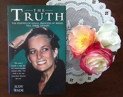 Princess Diana The Truth hardcover book from England photographs RARE