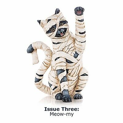 Meowy-my Mummy  Cat Figurine - Bradford Exchange