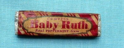 Pack of Curtiss Baby Ruth Real Peppermint chewing gum