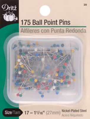 Size 17 175/Pkg - Color Ball Point Pins
