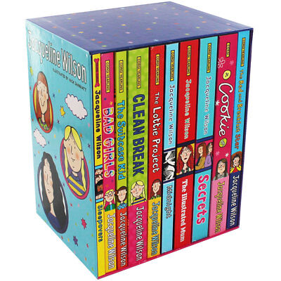 Jacqueline Wilson Collection - 10 Book Box Set (Paperback), Collections, New
