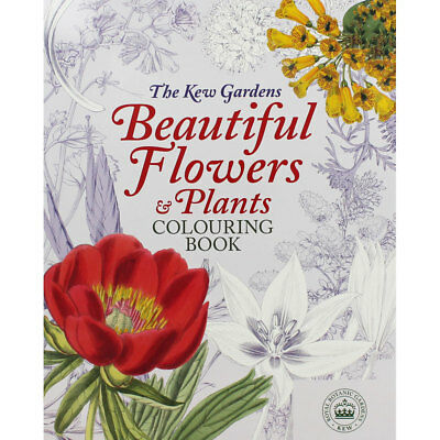 Beautiful Flowers And Plants Colouring Book (Paperback), Children's Books, New