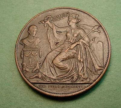 French Medal  Anniversary Of Inauguration Du Roy<>#97719