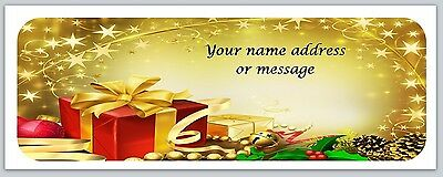 30 Personalized Return Address Labels Christmas Buy 3 get 1 free (bo 868)