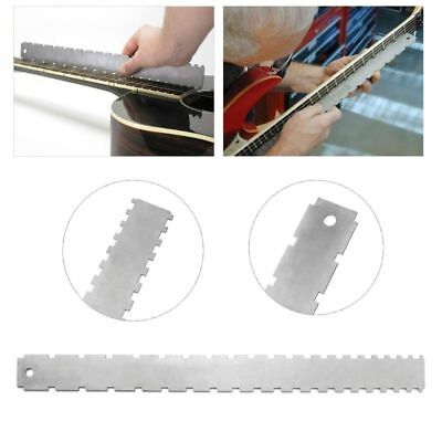 Guitar Steel Neck Notched Straight Edge Luthiers Tool for Fender Gibson Luthier